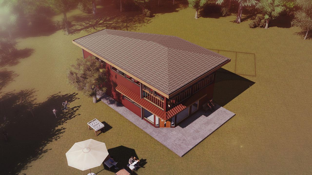 Casa de visitas san francisco de mostazal for Construccion de locales comerciales y oficinas